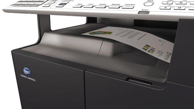 bizhub-215-14-paper output tray